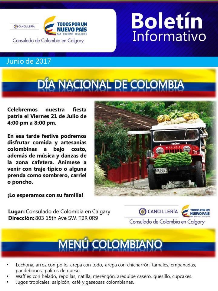 Julio 21 - Día Nacional de Colombia - Calgary AB