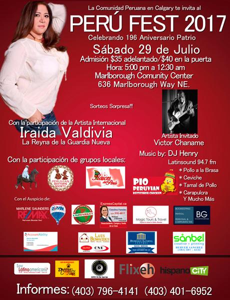 29 de Julio - Perú Fest 2017 Calgary