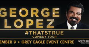 Sábado Septiembre 9 del 2017 . George López . Calgary Alberta