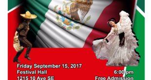 Viernes Septiembre 15 de 2017 . Independencia Mexicana ( EL GRITO ) Calgary Alberta