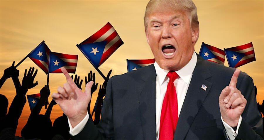 """Trump dice que Puerto Rico debería estar orgulloso que solo 16 personas murieron, comparado con la """"catástrofe real"""" que provocó Katrina"""