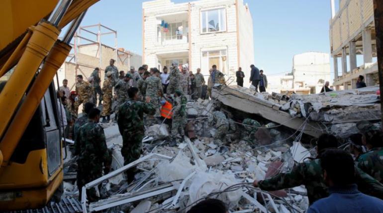 A 336 sube la cifra de muertos por sismo de 7,3 que sacudió frontera entre Irak e Irán- Noticias del mundo- Calgary AB