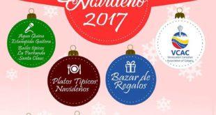 Dic 9-2017 Bazar Navideño (Venezuelan Canadian Association of Calgary)