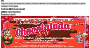 Dic 9-2017 Chocotatada (Calgary Peruvian Community Association)