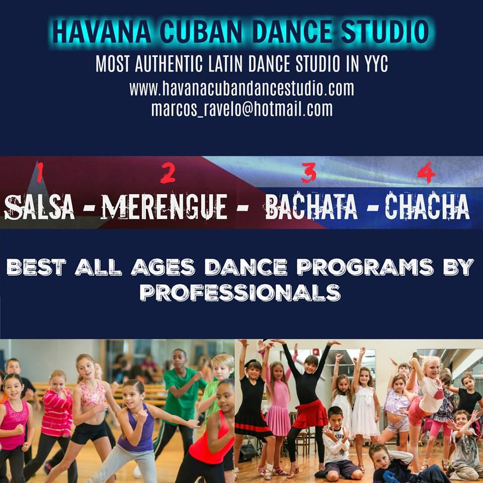 Havana Cuban Dance Studio-  Eventos Latinos en Alberta -Eventos Calgary Alberta
