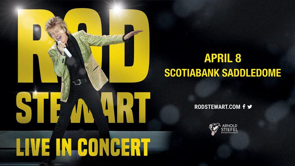 Abril 8 - Rod Stewart -Eventos Calgary Alberta - Eventos Latinos en Alberta