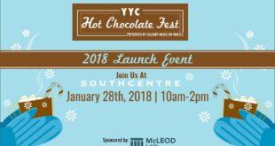 Enero 28 -2018 YYC Hot Chocolate Fest Launch-Eventos Calgary AB- Eventos Latinos en Alberta