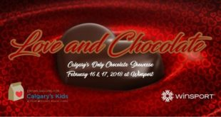 February 16 and 17 2018-Love and Chocolate YYC 2018- Eventos Calgary AB- Eventos Latinos en Alberta-