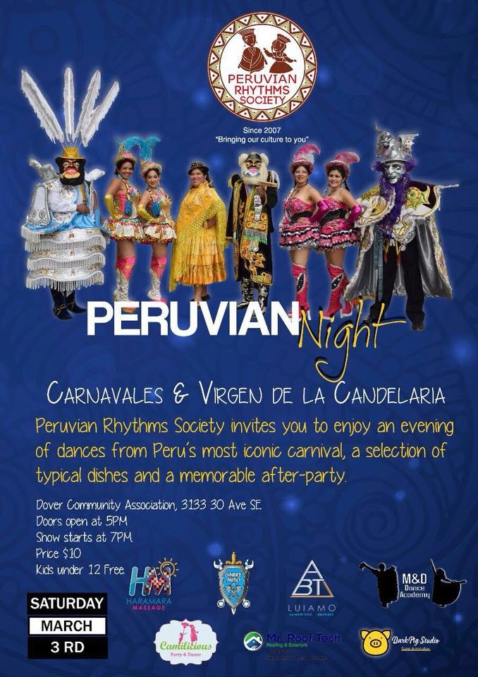 Sabado Marzo 3-2018- Eventos Latinos en Alberta- Eventos Calgary AB Canada