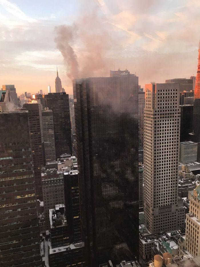 Incendio en la Torre Trump- Noticias Canada- Noticias Calgary- Noticias Latinos en Canada