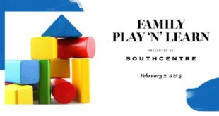 Febrero 2 - 4 - Family Play 'N' Learn- Southcentre Mall- Eventos Latinos en Alberta - @latinosenalbeta.ca