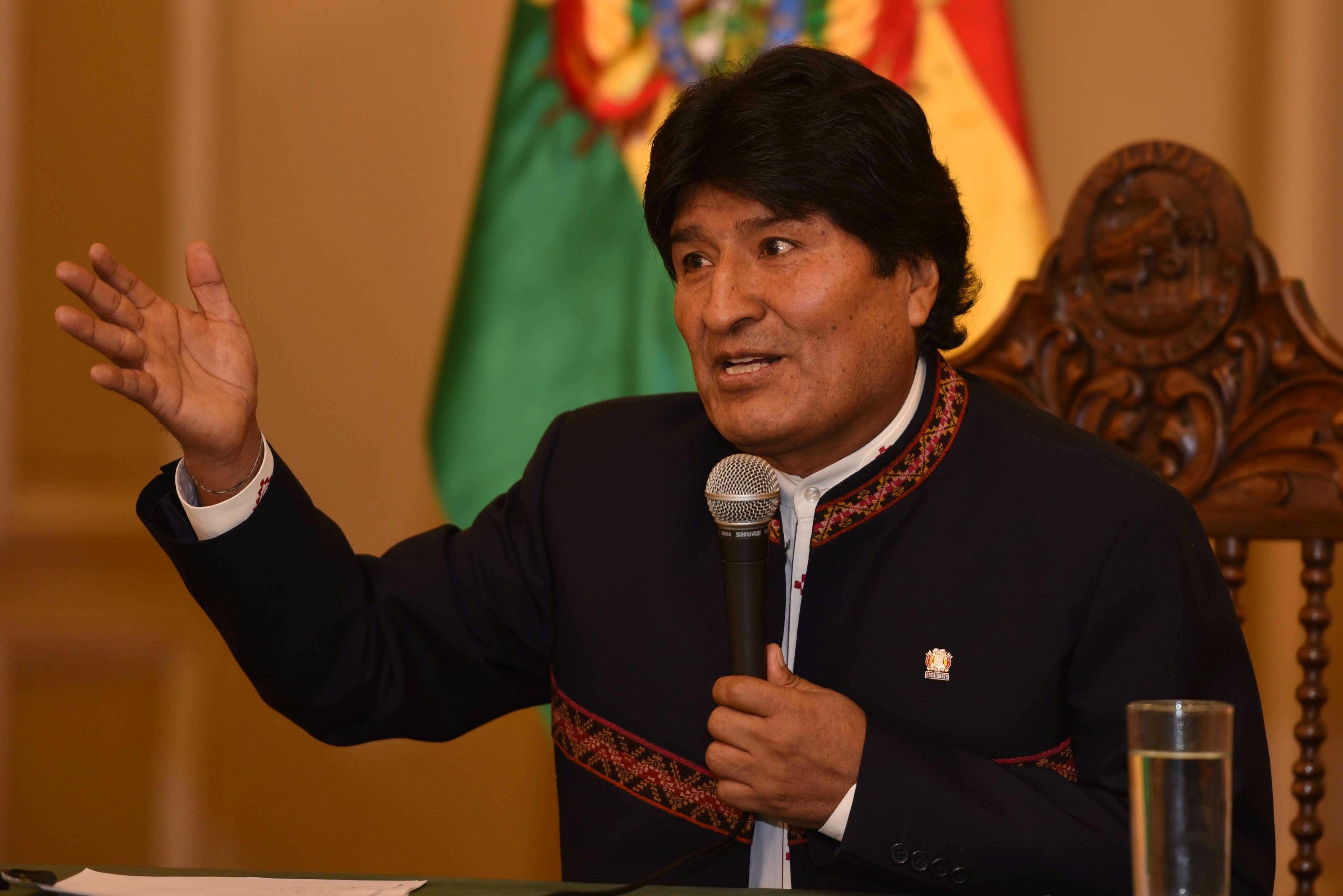 """Evo Morales asegura que la """"verdadera amenaza"""" es EE.UU. y no Venezuela-Noticias Calgary AB-@latinosenalberta.ca"""