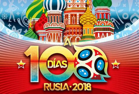 Faltan solo 100 días para el Mundial Rusia 2018-Noticias Calgary AB-@latinosenalberta.ca
